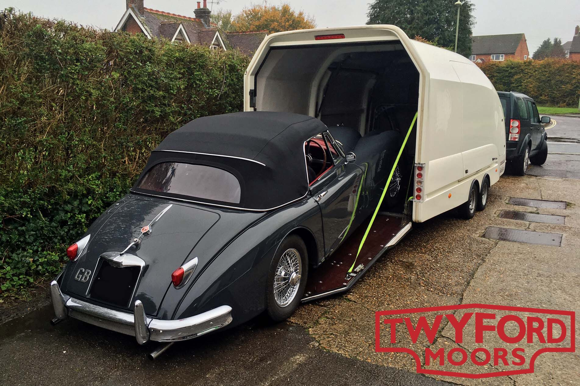 Classic car transport Hampshire