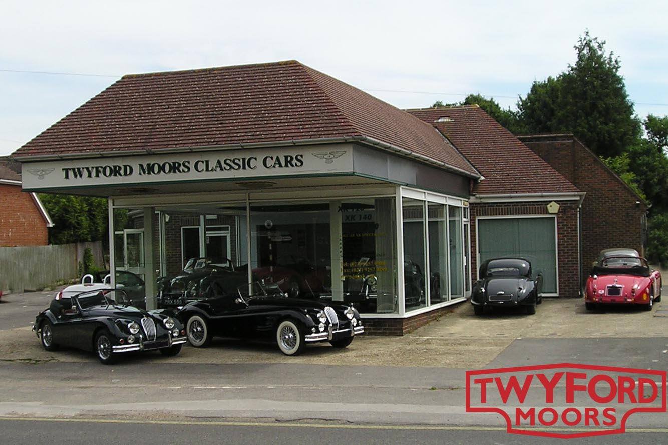 Twyford Moors Classic Cars Hampshire workshop