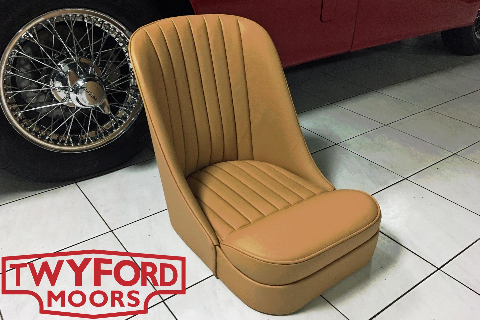 Jaguar XK140 bucket seat