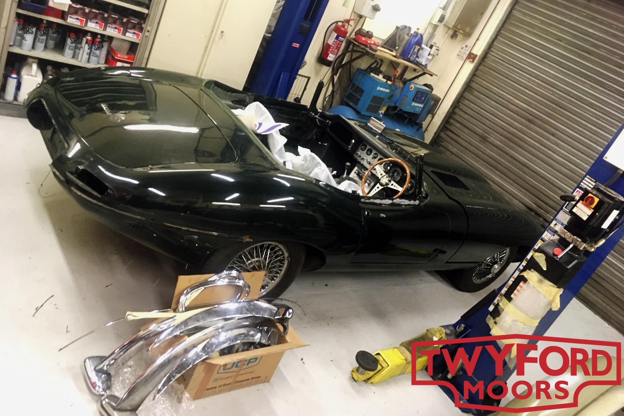 Jaguar E-Type restoration