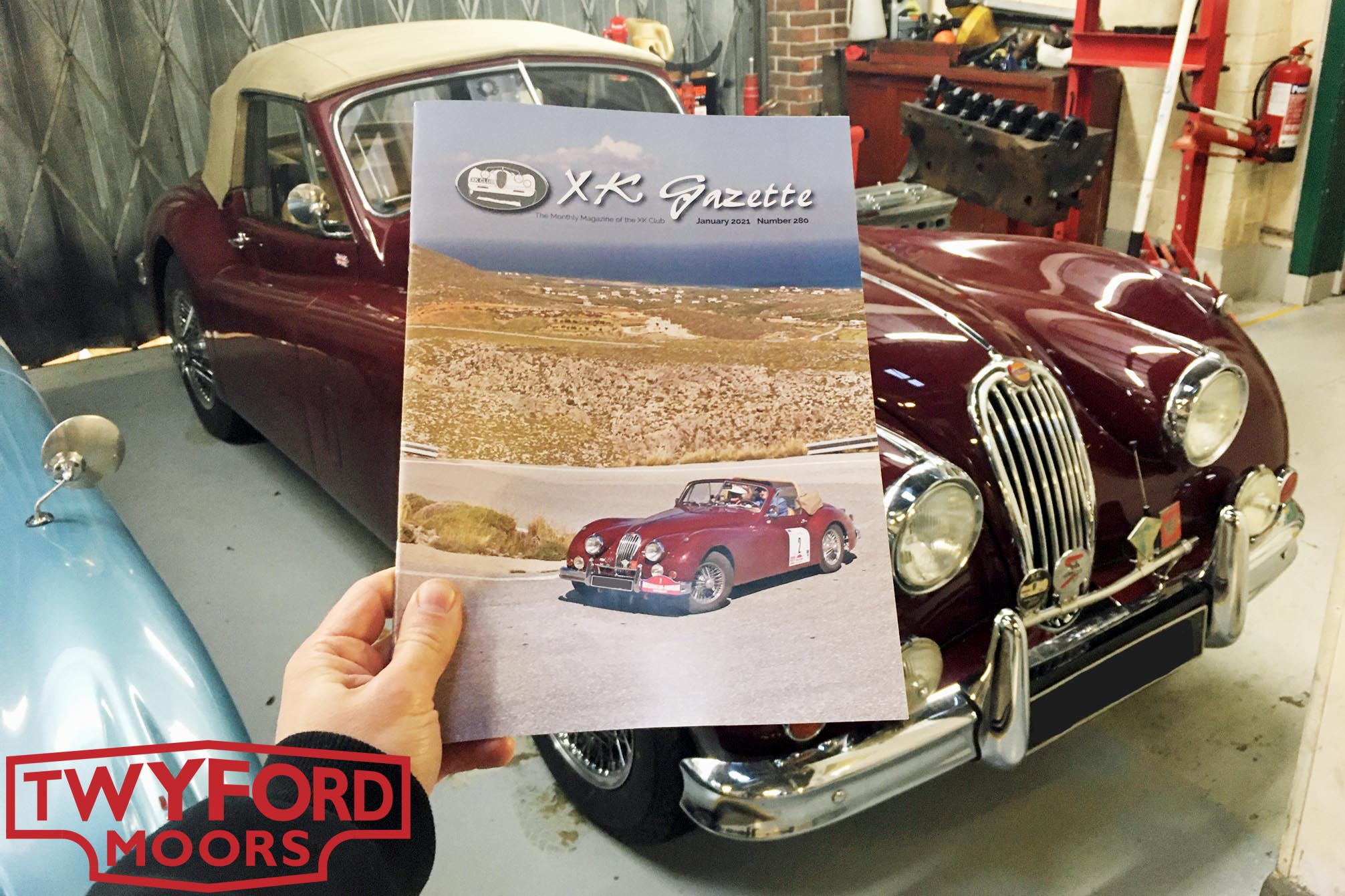 Jaguar XK140 XK Gazette
