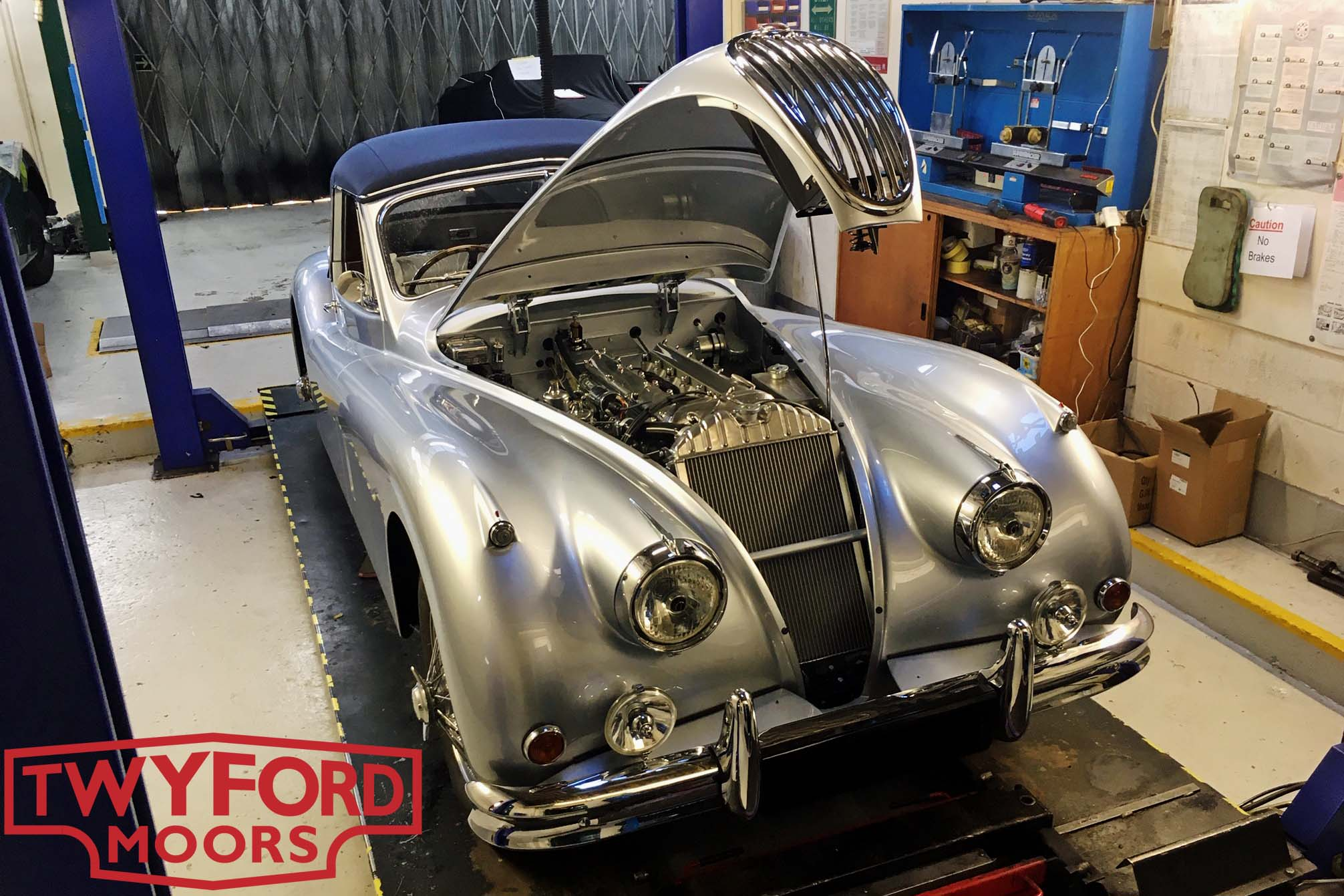Jaguar XK140 drophead restoration