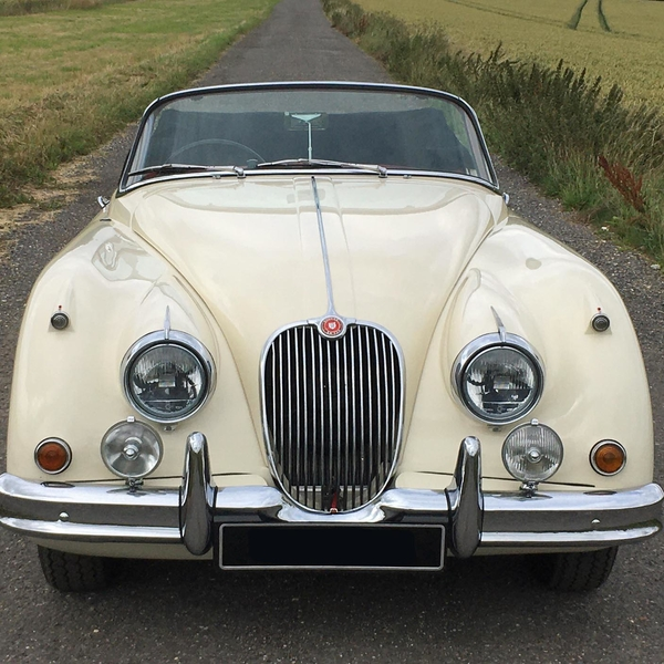 "Jaguar XK150 1958 - featured in the film ""Scandal"""